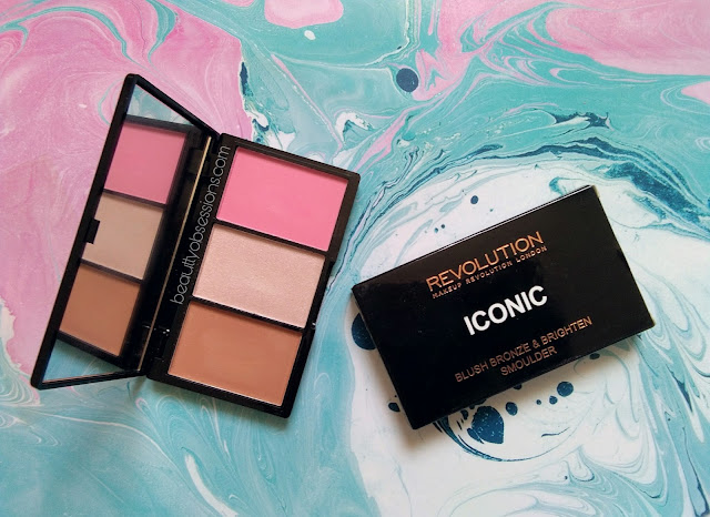 Makeup Revolution Iconic Blush, Bronze & Brighten in shade 'Smoulder' - Review