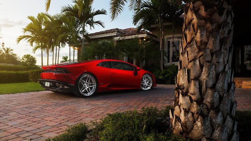 Lamborghini Huracan Red HD 2