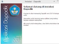 Daftar Perubahan Aplikasi Dapodik 2017 untuk diketahui Operator Sekolah