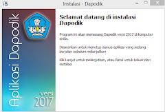 Dapodik 2017 Versi Terbaru Semester 2 Tahun Pelajaran 2016/2017