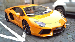 HOT Yellow Lamborghini Public Domain