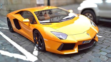 HOT Yellow Lamborghini Public Domain