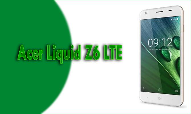 Acer Liquid Z6 LTE Full Specs Datasheet