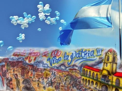 25 De Mayo Revolución De 1810 Burbujitas