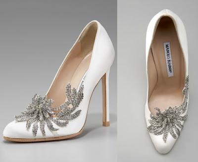 los zapatos de novia de Bella