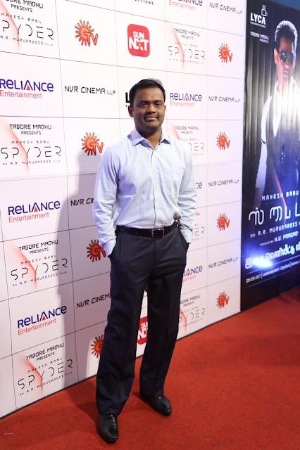 Celebrities at spyder movie audio launch