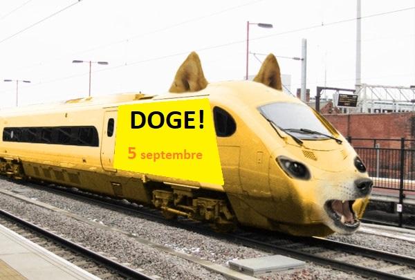 قطار الدوج كوين