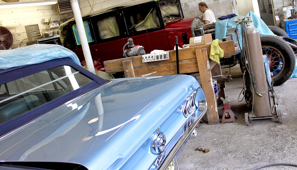 1968 Ford Mustang Restoration Rolls-Royce Restoration at Netcong Auto Restorations, LLC.