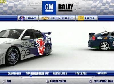 通用汽車拉力賽(GM Rally),擬真的3D立體賽車競速!
