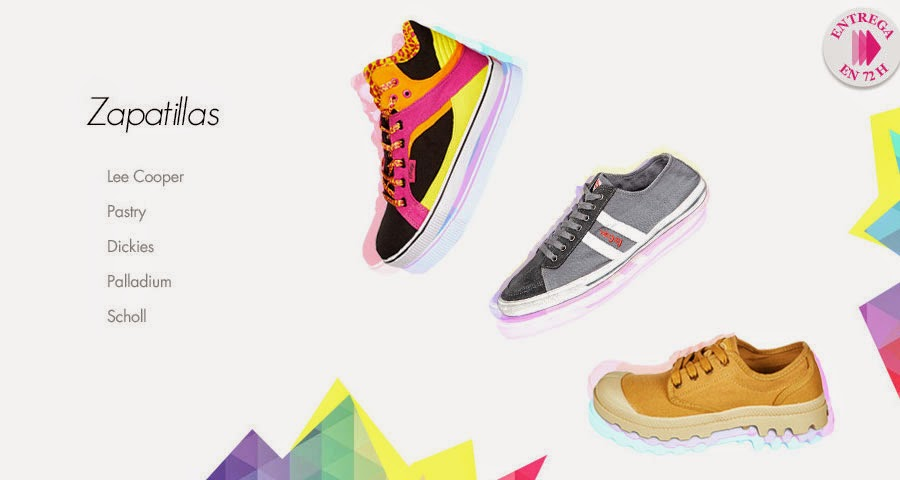 Portada de la venta especial de zapatillas de marca