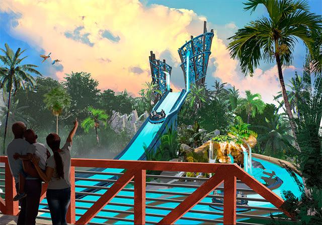 Nueva zona de Infinity Falls en Seaworld Orlando