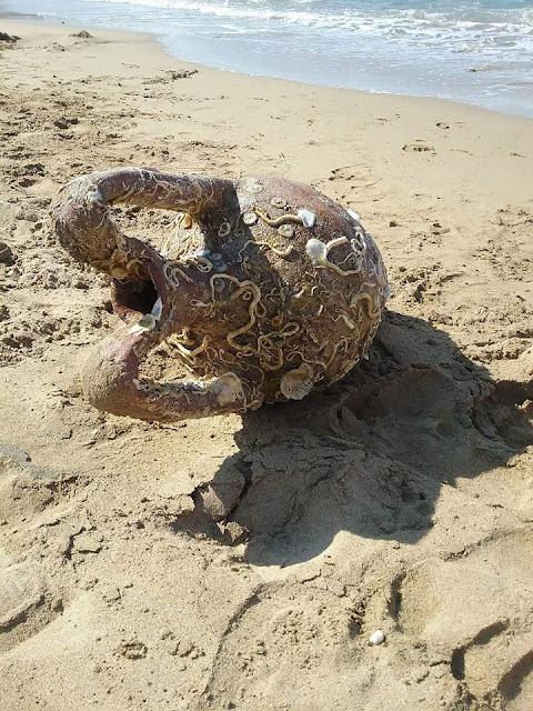 Κρήτη: Βρέθηκε αρχαίος αμφορέας στην Αρίνα του Ηρακλείου