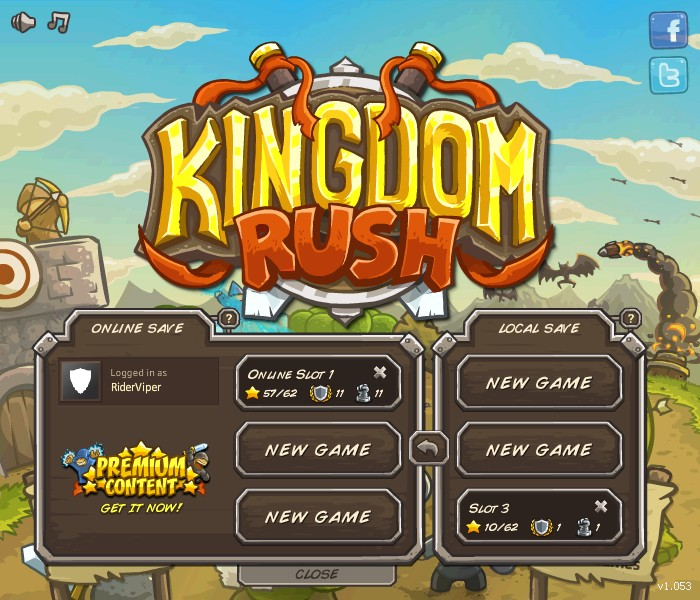 Rider Viper Blogged: Kingdom Rush
