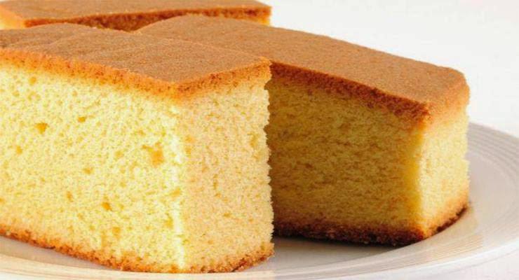 Basic Orange Sponge Cake Recipe