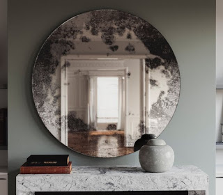 An Antique Wall Mirror