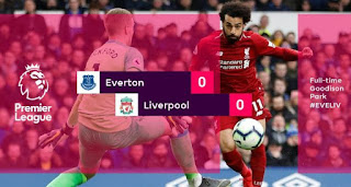 Everton vs Liverpool 0-0