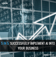 Successfully implement AI into your business