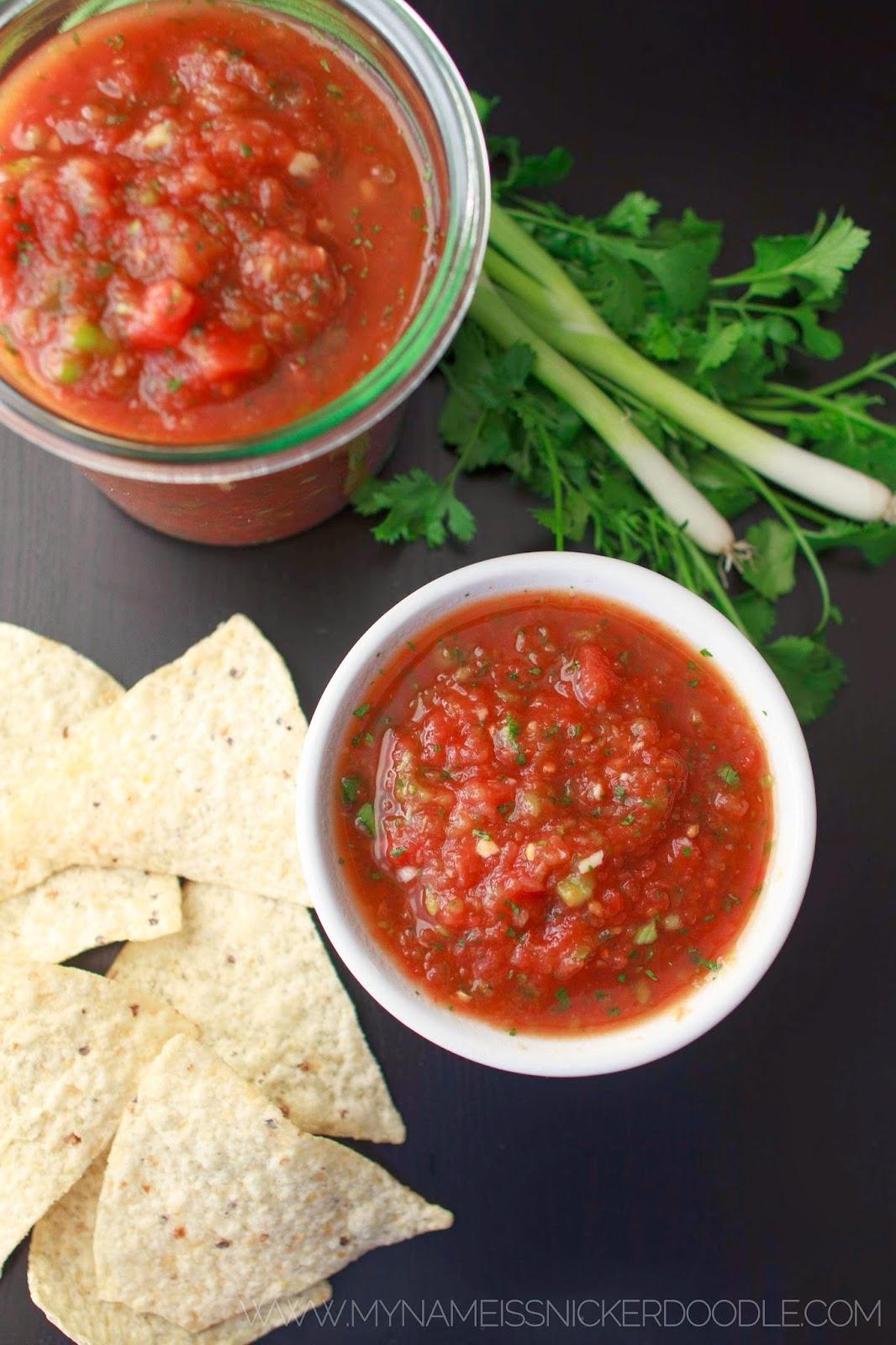 The BEST Salsa Recipe!