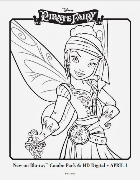 Free coloring pages for kids disney characters cartoon tinkerbell , cinderella, disney cars , princess snow white , princess belle and other disney world. One Savvy Mom Nyc Area Mom Blog Disney Pirate Fairy Free Printable Coloring Pages Grab A Box Of Crayons