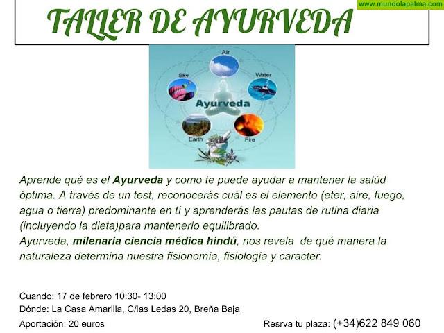 """CASA AMARILLA: taller de """"Ayurveda"""""""