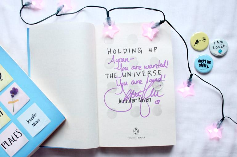 jennifer niven holding up the universe