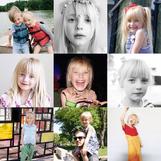 happy 8th birthday, elle!