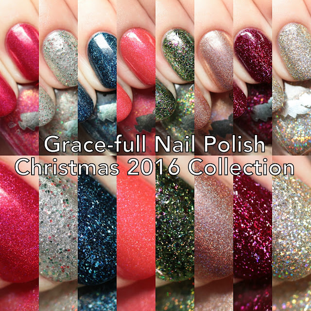 Grace-full Nail Polish Christmas Memories 2016 Collection