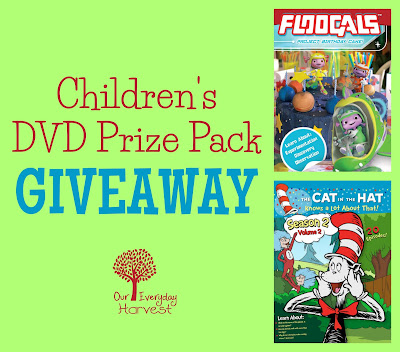 Win a DVD Prize Pack Featuring Two Popular Kid's Shows