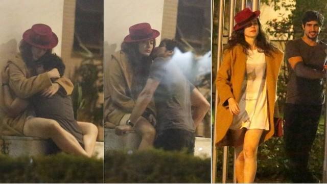 Será que Renato Góes e Maria Casadevall estão namorando?