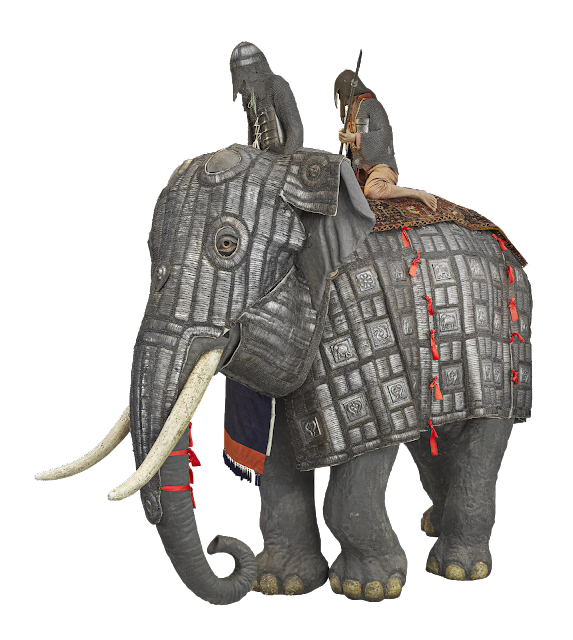Devadatta Attack by Elephant