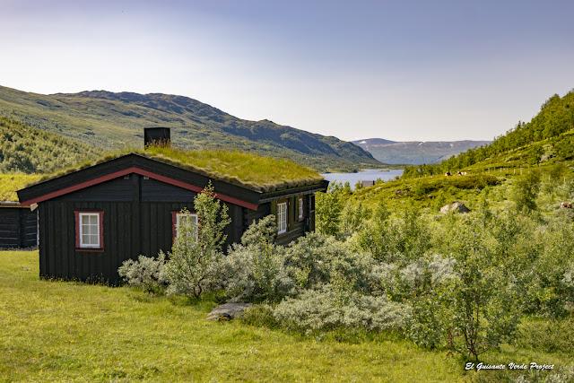 Hytte en Nonshøa - Noruega por El guisante Verde Project
