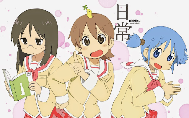 Nichijou - anime comedy yang lucu kocak dan ngakak untuk dilihat