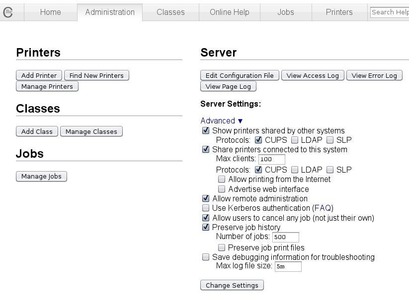 Life on the OutSide: Solaris 11: Setup Printer server using