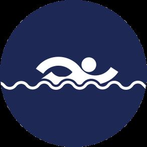 Icon Logo Aquatics Asian Games 2018