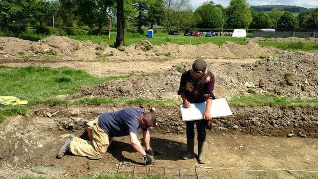 'Incredibly important' medieval find in Wales