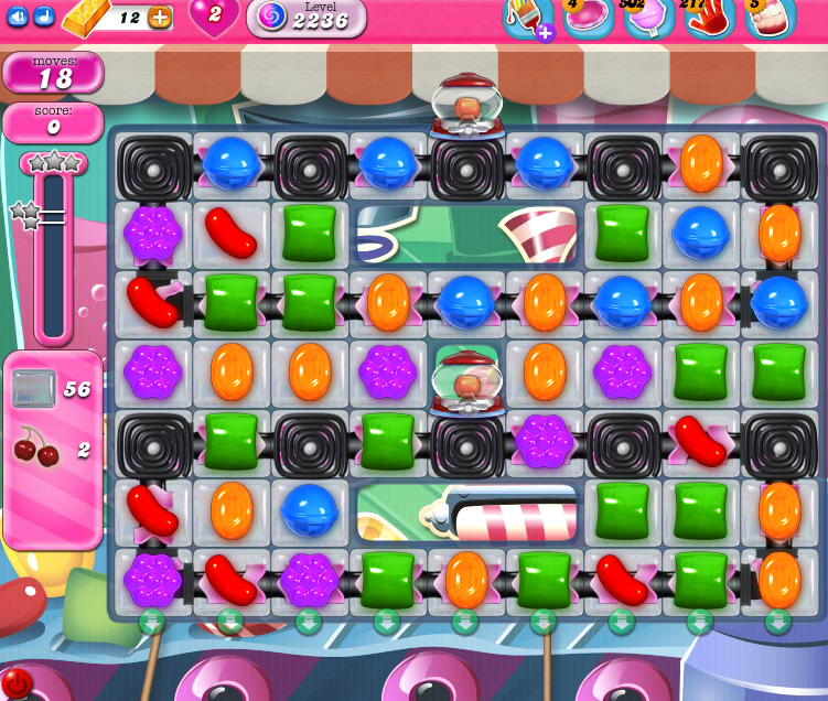 Candy Crush Saga level 2236
