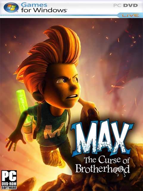 تحميل لعبة Max The Curse Of Brotherhood مضغوطة كاملة بروابط مباشرة مجانا