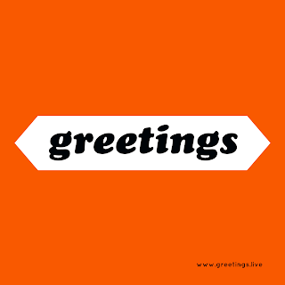 Greetings Text Image