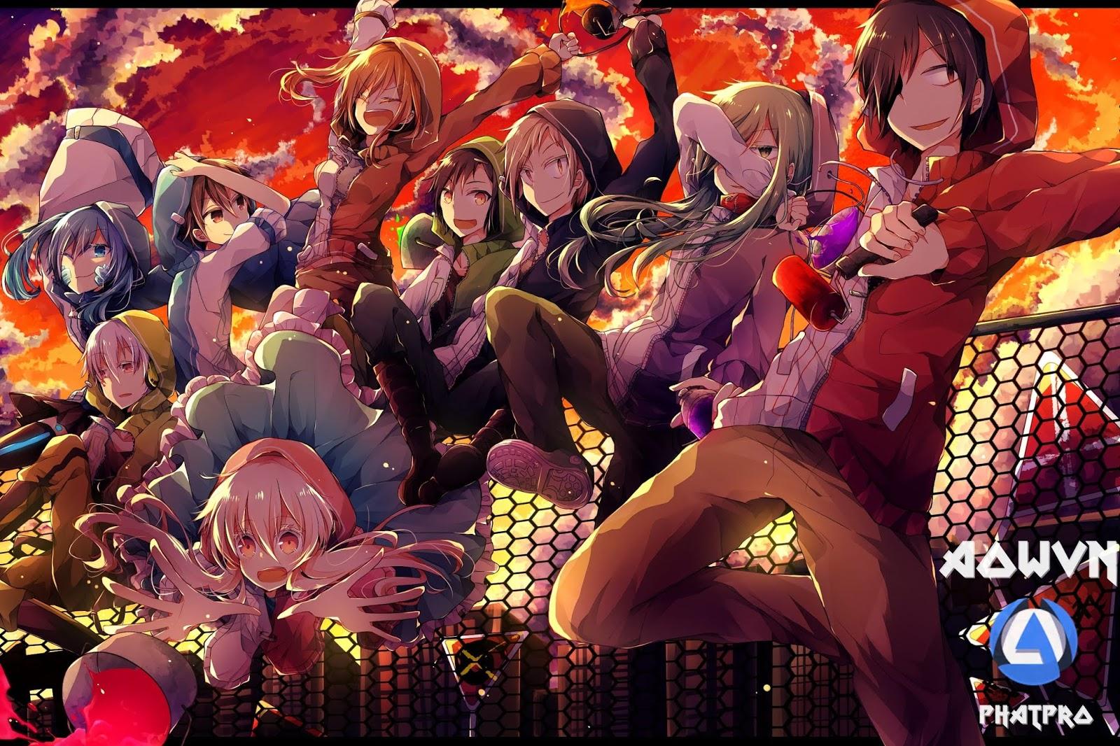 Mekakucity%2B%25284%2529 min - [ Anime 3gp Mp4 ] Mekakucity Actors | Vietsub - Viễn Tưởng Cực Hay