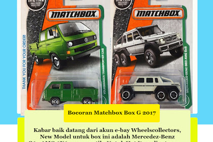 Bocoran Matchbox Box G 2017