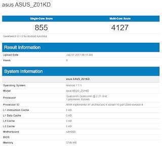 Asus kembali meramaikan pasar smartphone dunia Segera Keluarkan Zenfone 4, Smartphone dengan Snapdragon 660