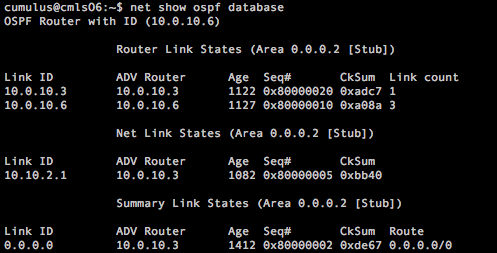Lab and fun!: Cumulus Linux | Базовый OSPF