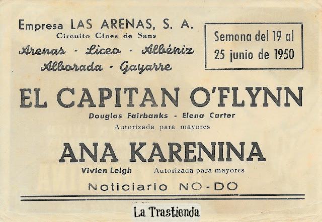 Ana Karenina - Programa de Cine - Vivien Leigh - Ralph Richardson