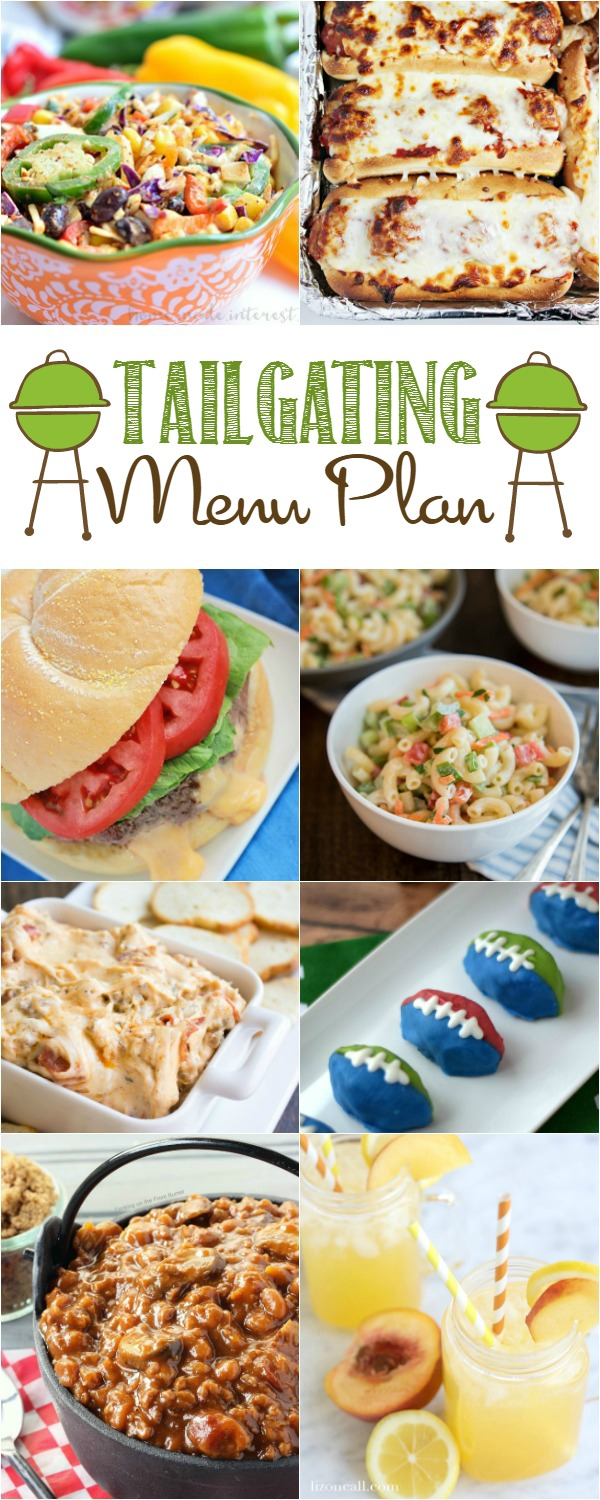 Plan your tailgating menu with these tasty recipes - perfect for game day!