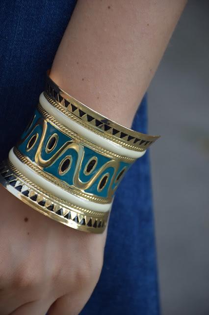 bracciale rigido etnico bracciali boho bracciali estate 2016 summer bracelets summer bangles boho bracelets