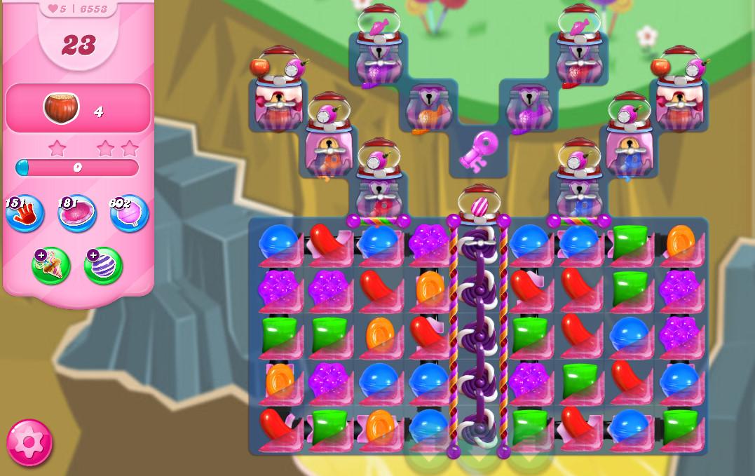 Candy Crush Saga level 6553