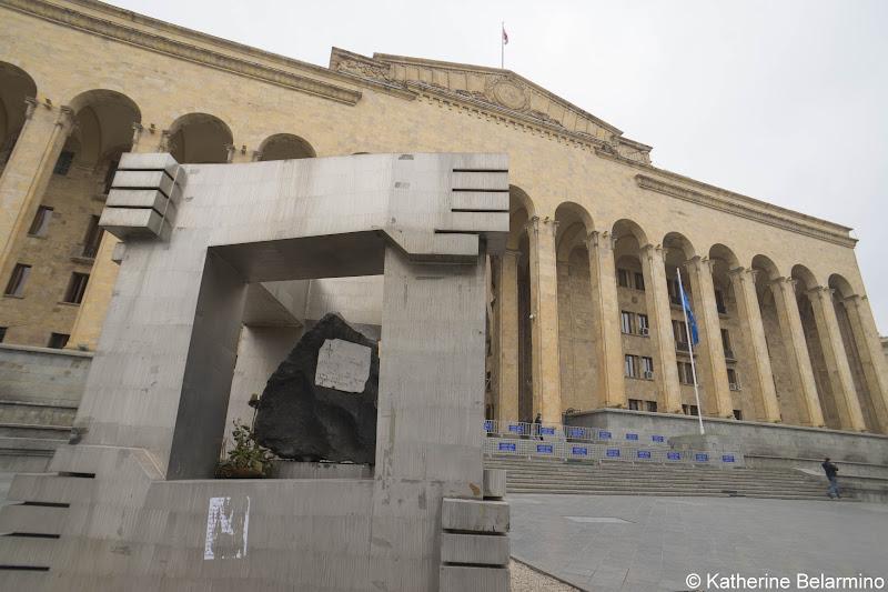 Parliament of Georgia and April 9 Memorial Old Tbilisi Walking Tour