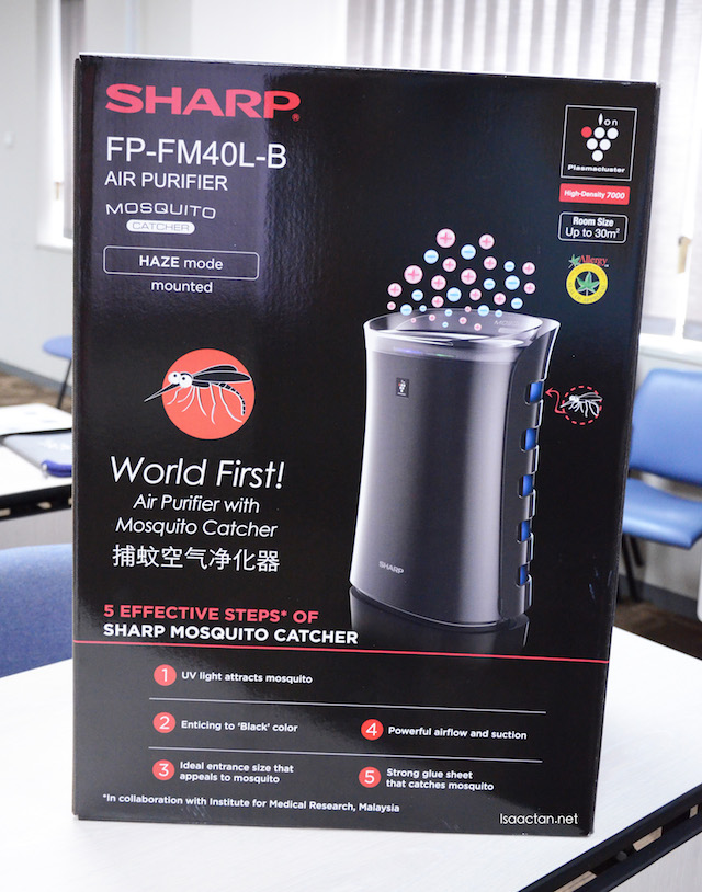 The all new SHARP Malaysia Mosquito Catcher Plasmacluster Air Purifier (FPFM40LB)