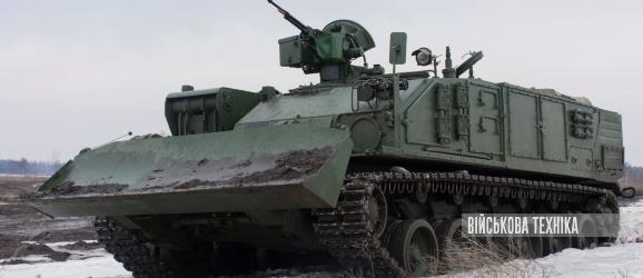 БРЕМ «Атлет» на базі танка Т-84