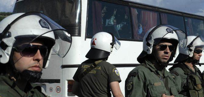 Πολύκαστρο: 30 συλλήψεις ξένων αλληλέγγυων κατά τη διαδικασία εκκένωσης